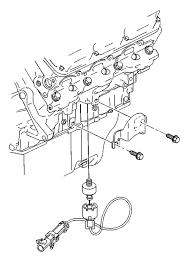 how to replace bank 2 knock sensor on 1999 buick regal 3 8 not 2003 buick lesabre o2 sensor location at 1998 Lesabre O2 Sensor Wiring Diagram