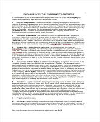 Invention Agreement Templates - 10+ Free Word, Pdf Format Download ...