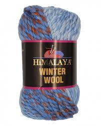 <b>Пряжа Himalaya Winter</b> Wool 20% шерсть, 80% акрил, 100г/70м ...