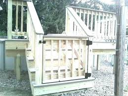 outdoor gate for deck stairs porch gates for dogs deck gate pool ideas skirting best on