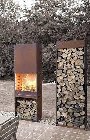 ... Wood Pile Holder Outdoor Indoor Fireplace Firewood Rack Storage Https  Www Outdoor Wood Pile Holder ...