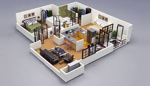two bedroom apartments designs state of the art on plus 50 2