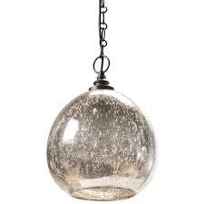 regina andrew antique mercury glass float pendant
