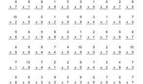 Printable » Free Printable Multiplication Times Table Worksheets ...