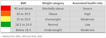 Bmi Categories Myfitnessroad Com Calculate Bmi
