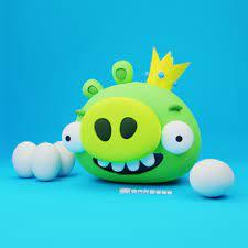 ArtStation - Angry Birds: King Pig, Natasha Beatriz