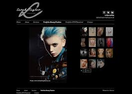 makeup artist websites templates new logo design and web design for sarah taylor 9thwave design