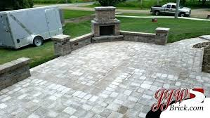 cost of brick patio average cost to install brick patio