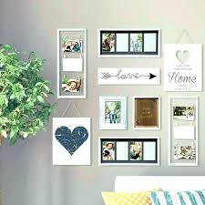 picture frame sets for wall white gallery set perfect 9 piece collage