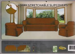 Amazon STRETCH FORM FIT 3 Pc Slipcovers Set Couch Sofa