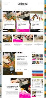 25+ Gorgeous WordPress Themes for Art \u0026 Craft Blogs