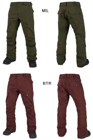 Grenade Snowboard Pants Size Chart