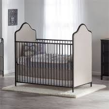 contemporary baby furniture. Little Seeds Piper Upholstered Metal Crib Contemporary Baby Furniture 9