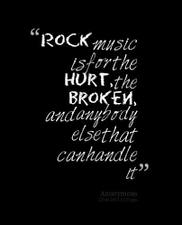 Rock Quotes Fascinating Rock Music ˜�¸☆ Music=Therapy ˜�¸☆ Pinte