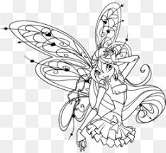 Winx Club Believix In You Bloom Drawing Kleurplaat Winx Club