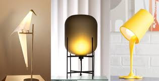 50 uniquely cool bedside table lamps that add ambience to your sleeping space night table lamps o21