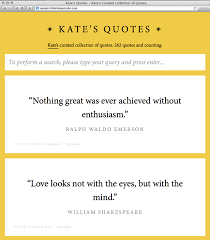 Quotes Website Beauteous My Quote Website Little Things Studio