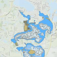 Loon Lake Depth Chart Cass Lake Fishing Map Us_mi_63_1337 Nautical Charts App
