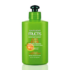 Garnier Fructis Sleek Shine Zero Smoothing Light Spray Garnier Fructis Sleek Shine Intensely Smooth Leave In Conditioning Cream 10 2 Ounce Pack Of 1