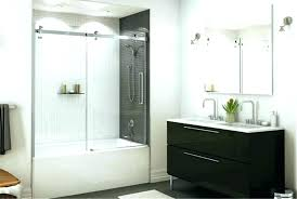 appealing sliding glass shower tub doors bathroom sliding door installation bathtub sliding doors glass a shower
