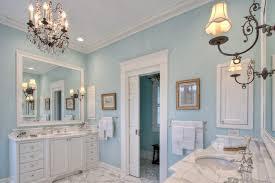 bathroom crown molding. Door Crown Molding Ideas Bathroom Farmhouse With Towel Bar Light Blue Walls