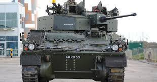 Lockheed Martin touts reliability gains in <b>British</b> Army's '<b>Warrior</b> ...