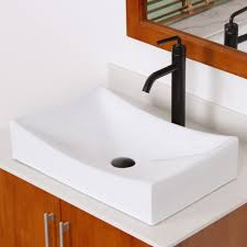 Grade A Ceramic Bathroom Sink With Unique Design 9910 Bathroom Inside Long  Vessel Sink