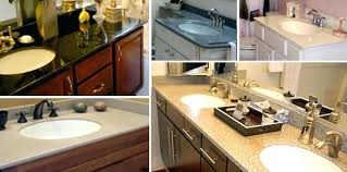 bathroom countertop options s and cost surface types