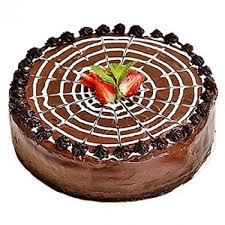 Buy Chocolate Strawberry Cake 1 Kg Same Day Delivery Of Chocolate