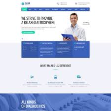 17 Of The Best Medical Bootstrap Website Templates Down
