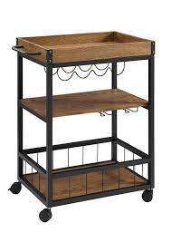 amazon com linon austin kitchen cart kitchen dining