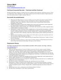 Sample Resume Recruiter 7 It Recruiter Resumes Ledger Paper Intended for Recruiter  Resume. Hr Recruiter Resume Experience