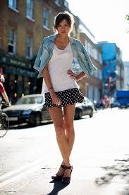 FWbVK Polka Dots.!   Denim fashion, Fashion week street style, Fashion