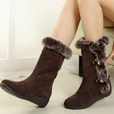 CAGACE 2018 <b>New Fashion Women</b> Boots <b>Autumn</b> Winter Warm ...