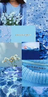 Pastel blue aesthetic wallpaper ...