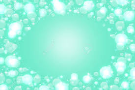 Elegant Abstract Bluish Green Background Glitter Lights Bokeh Stock