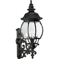 Black Outdoor Onion Lights Progress Lighting Onion Lantern Collection 4 Light 31 In