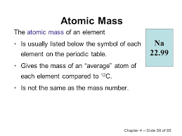 Chapter 4Atoms and Elements Elements and Symbols The Periodic ...