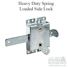 garage door lock roller door latch heavy duty spring loaded side lock with bolt release