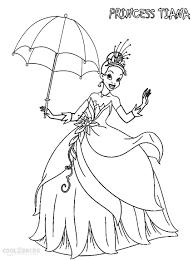new disney princess coloring pages tiana