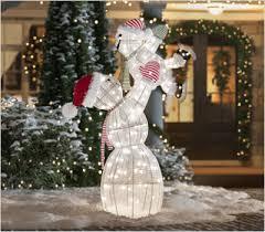 Snowmen Outdoor Christmas Decorations