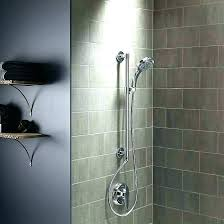 shower rain head system multi with oil rubbed bronze heads rainfall waterfall extraordinary wall floor