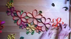 diy wall decor paper. Inspiring Diy Wall Decor Paper Guia Con Flores De Papel Flowers E