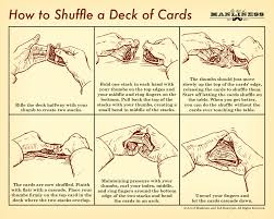 How To Shuffle A Deck Of Cards Poster Print On Demand