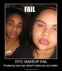 heydemotivate me epic makeup fail