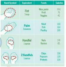 Meat Serving Size Chart Portion Size Chart Health Diet Fitness Diet How To Stay
