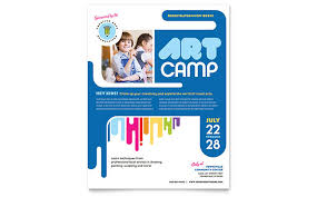children hospital flyers education training flyers templates design examples