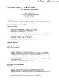 Best Executive Assistant Resumes Best Resume For Administrative Assistant Englishor Com