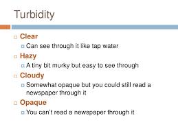 Urine Turbidity Chart Training Module Iii Urinalysis