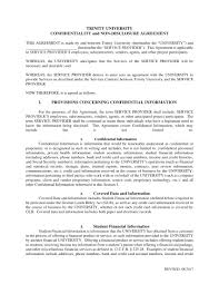 Confidentiality Agreement Samples 9 Non Disclosure Confidentiality Agreement Examples Pdf Examples